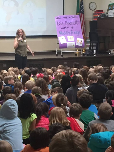 Lois at Queen Anne Elementary